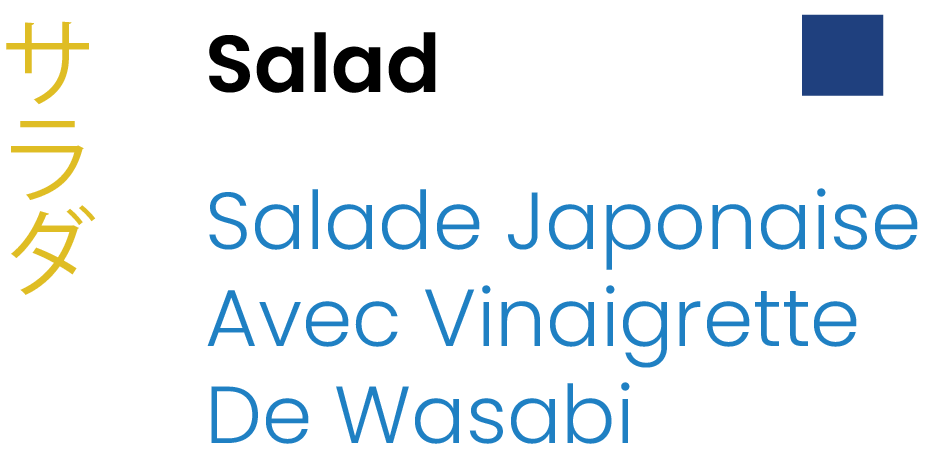 Salad Japanese Salad with Sesame Dressing